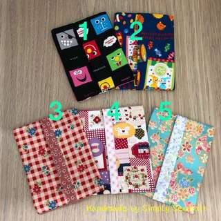 Assorted Design Pocket Tissue Pouch