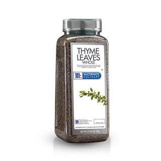 McCormick Culinary Thyme Leaves Whole 225g