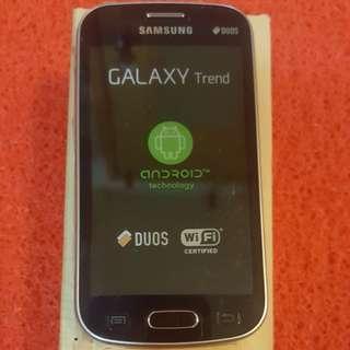 Samsung Galaxy trend brend new original open line full set box dual sim