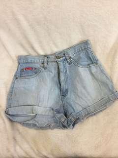 Bossini highwaisted denim shorts