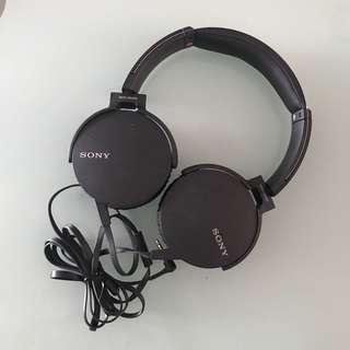 Sony stereo headphone