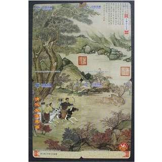 中國電話卡--古畫系列--乾隆帝錦衣良駿圖