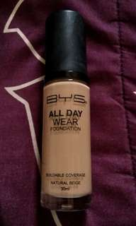 BYS All Day Wear Foundation