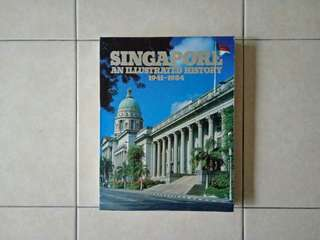 Singapore history book 1941-1984 condition 7/10