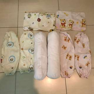 🔥WITH SHIP WM🔥Baby Bolster/Covers and Pillow Covers