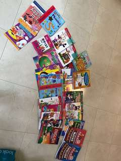 Preloved activity books for preschoolers up to K2