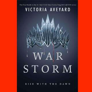 War Storm (Red Queen, #4)  by Victoria Aveyard