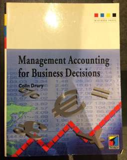 Accounting-Management accounting for business decisions