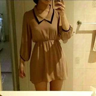 Korean Style Chiffon Dress