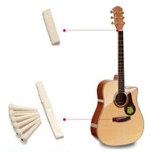 🚚 Acoustic guitar nut saddle bridge pins