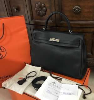 Authentic Hermes Kelly 35