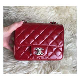 Authentic Chanel Classic Mini Square Flap Bag