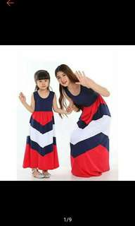 Mother and Daughter Maxi Dress