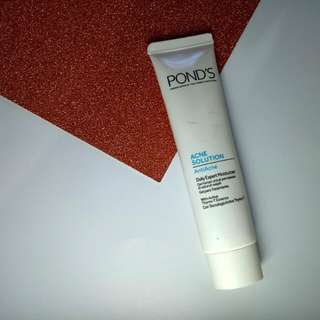 Ponds Leave On Acne Solution Gel / Daily Expert Moisturizer