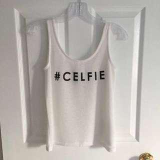 H&M - #Celfie Tank Top