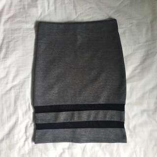 H&M - Mesh Panel Pencil Skirt