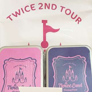 Twice 2nd tour TWICELAND Fantasy Park 小卡