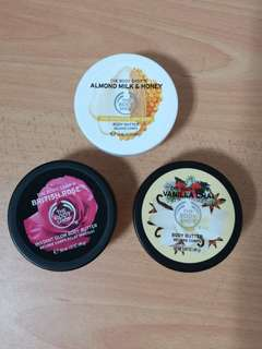 The body shop body butter travel size 50ml
