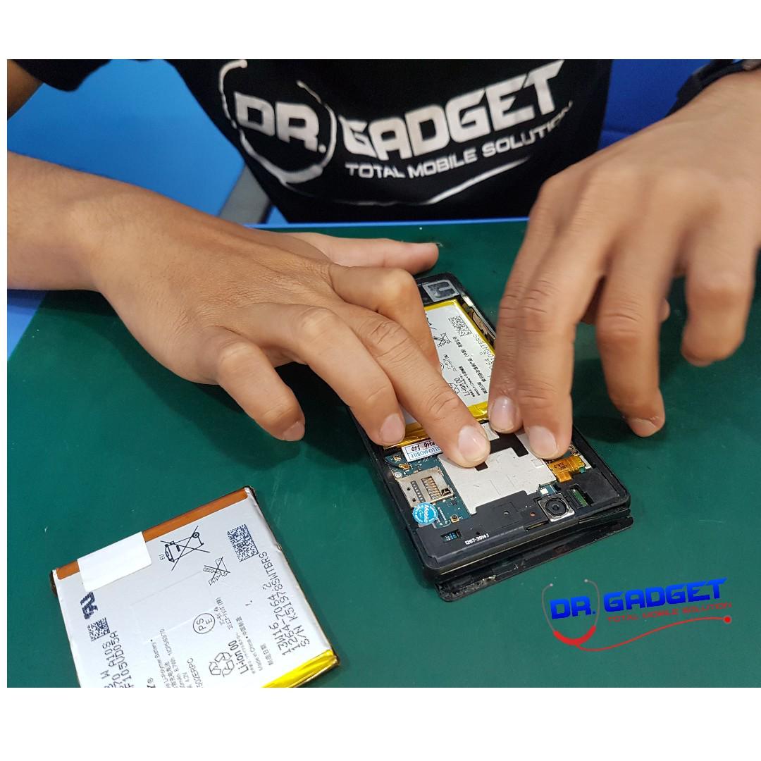100% Original Sony Xperia XZ Xperia XZS Battery LIS1632ERPC 2900mAh With 8pcs Opening Tools