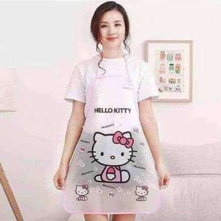 Hello kitty and Doraemon Waterproof Apron