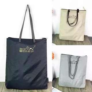 貓咪 購物袋 拉鍊袋 手拎袋孭袋