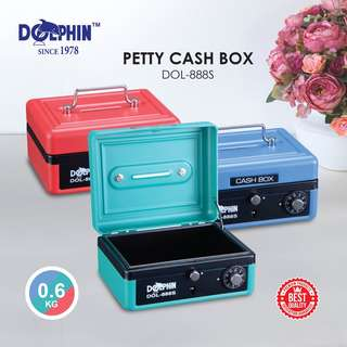 DOLPHIN DOL-888S PETTY CASH BOX (SMALL)