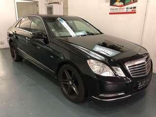 Mercedes E250 for rent