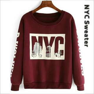 NYC Sweater