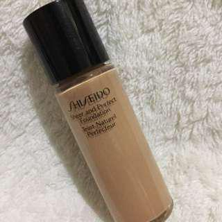 Authentic Shiseido Sheer and Perfect Foundation<Reprice >