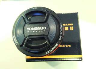 Latest!!! YongNuo 50mm F1.8 Mark ii (Canon mount)