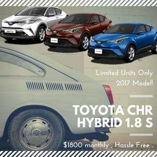TOYOTA C-HR HYBRID 1.8 S