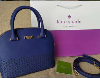 Kate Spade newman drive mini carli in asilah blue