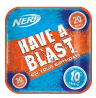 🚚 (Pre-Order)  Licensed Nerf Party Supplies
