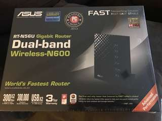 Brand New Asus RT-N56U Wireless N Router