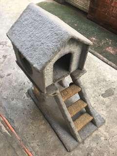 Cat house.