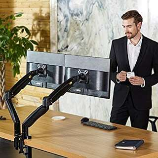Sell North Bayou F195A Dual Monitor Arm, 2 Screens up to 32''