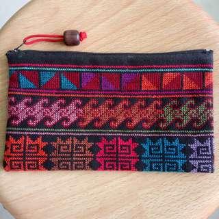 Pencil Case Fabric Washable Zip Pouch