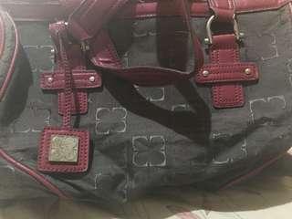 Liz claiborne bag maroon