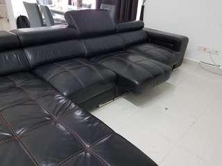 Leather Sofa L shape