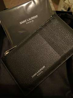 PRICE DROP - Saint Laurent Fragments cardholder in Black