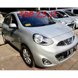Nissan March XS-AT 2015 Tdp 2.5 jt