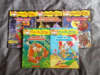 Geronimo Stilton Books for SALE