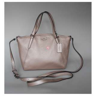 Coach Mini Kelsey Rose Gold