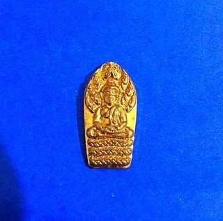 Phra Nak Prok Buddha Amulet - Mass chanting Wat Paknam Temple
