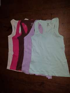 Colourful Tank tops (Damsel, Cotton On)