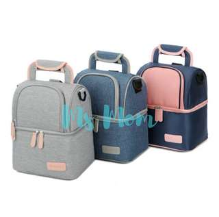 🚚 BNIP Stylish Cooler Bag for Breastmilk