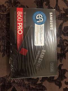 Brand New Samsung 860 Pro 512GB SSD(sealed)