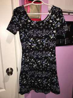 H&M floral dress size M