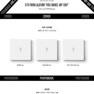 PRE-ORDER SEVENTEEN YOU MAKE MY DAY