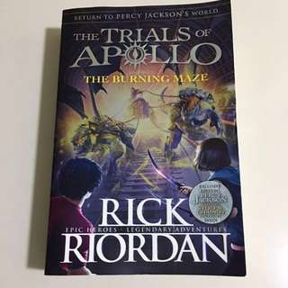 The Trials of Apollo The Burning Maze
